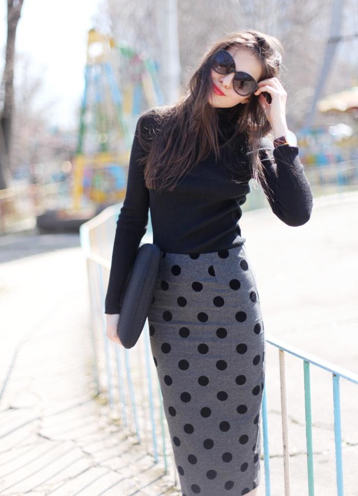 Сделать юбку из трикотажа
