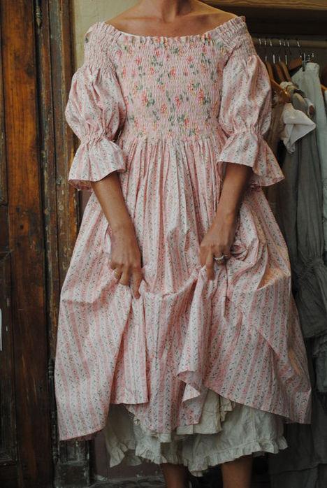 Платье шебби шик своими руками