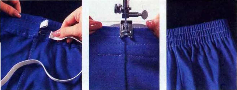 Как сделать пояс с резинки