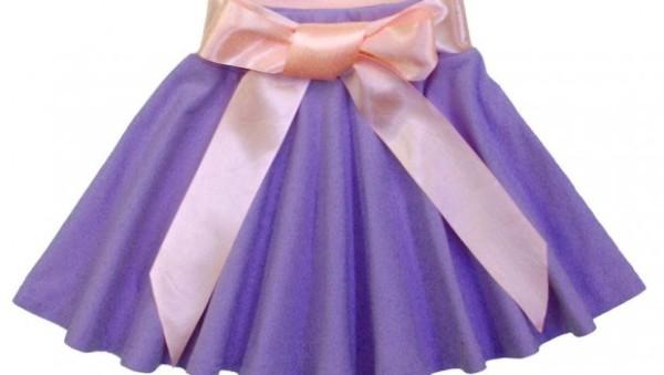 Как сшить юбку руками на ребенка