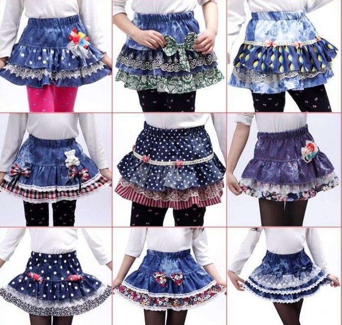 Как сшить юбку школьную на девочку 192