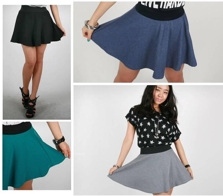 Сшить платье юбку просто