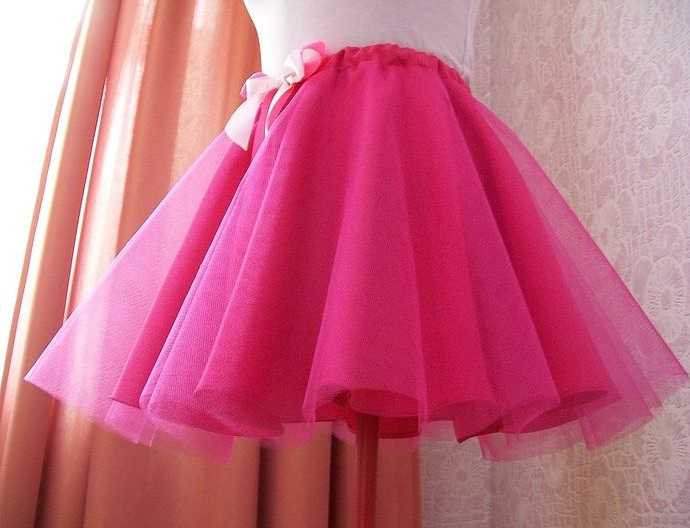 Выкройка для юбки полусолнце из фатина