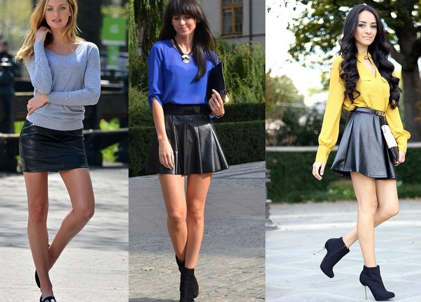 С чем можно одеть юбку с баской