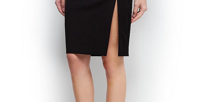 Раскроить юбку с разрезом