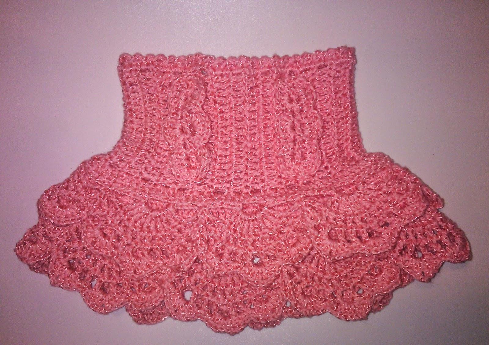 фото схема юбка крючком с воланами