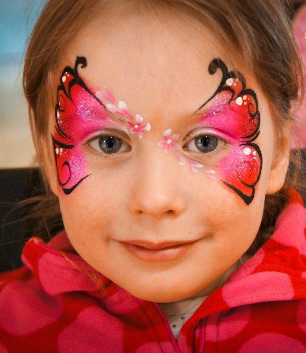 детский аквагрим для лица фото