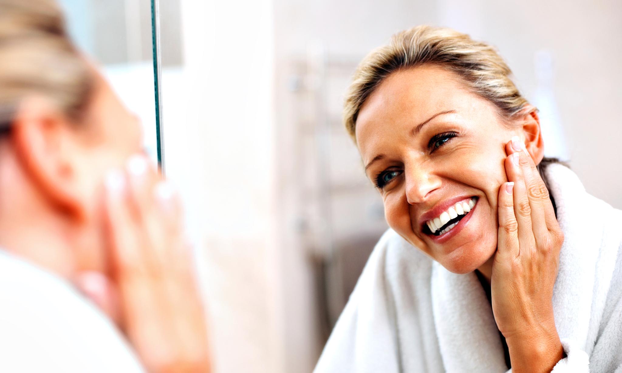 Как омолодить лицо в 40 лет а домашних условиях