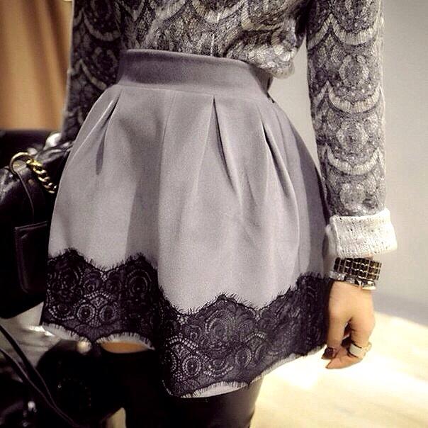 Как преобразить свою юбку