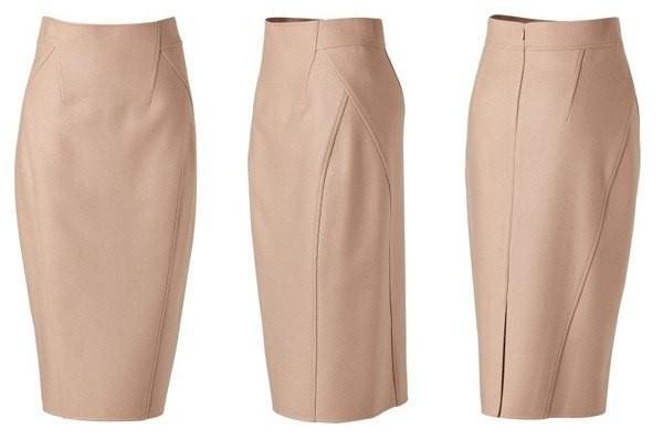 Перешить классические брюки в юбку