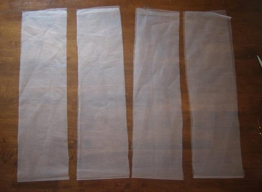 Резинки из фатина своими руками фото 597