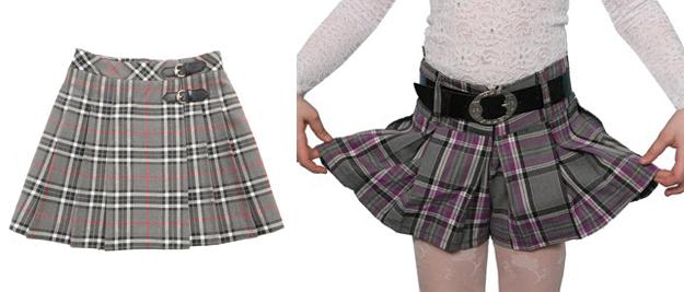 Как сшить юбку ребенку в школу