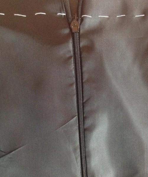 Верха юбки с подкладкой