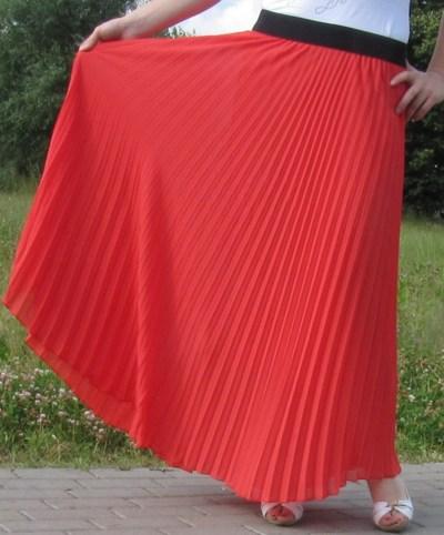 Сшить пояс для юбки плиссе