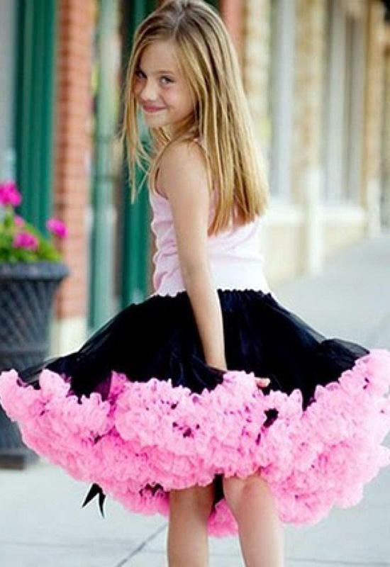 Как сшить юбку американку для девочек