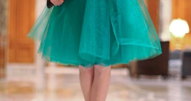 Сшить пышную юбку из органзы