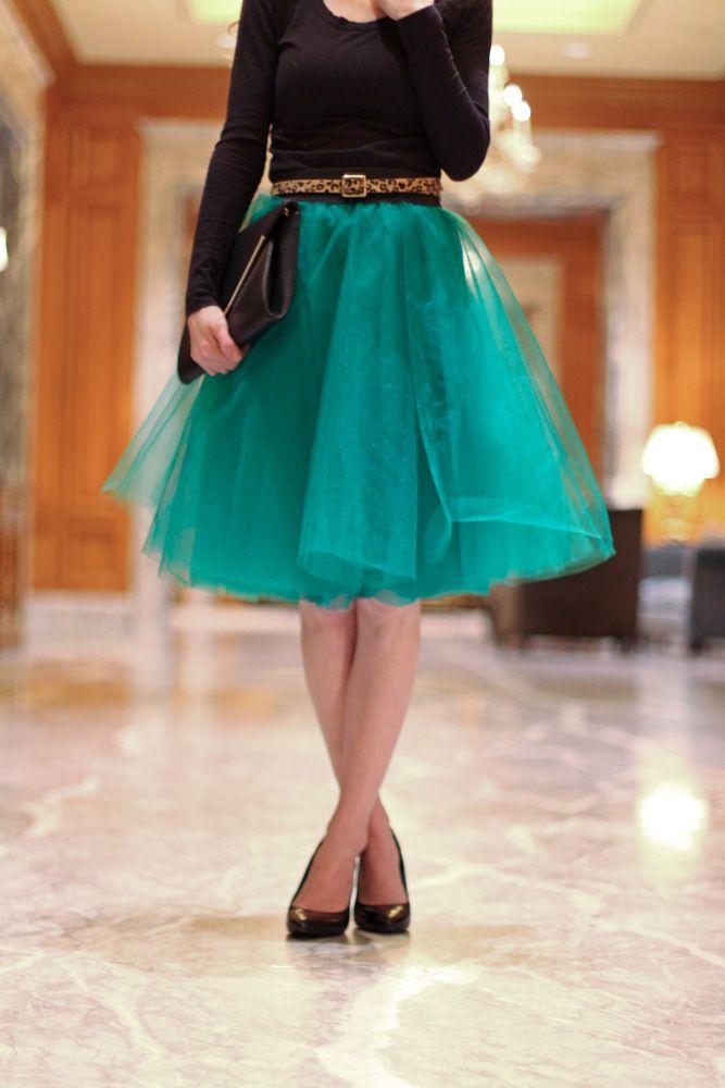 Как сшить пышную расклешенную юбку