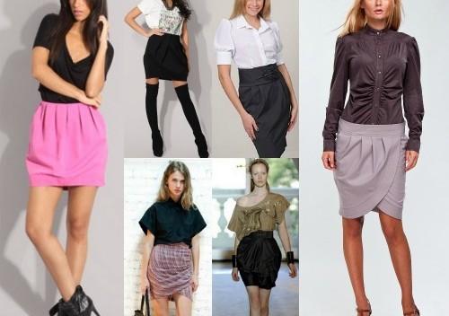 Легкий способ сшить юбку