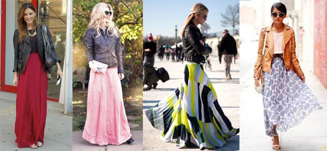 Длинная юбка с курточкой