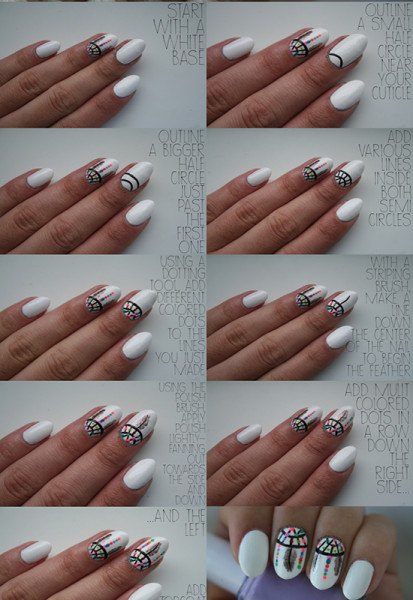Dreamcatcher-Nail-Art-Tutorial