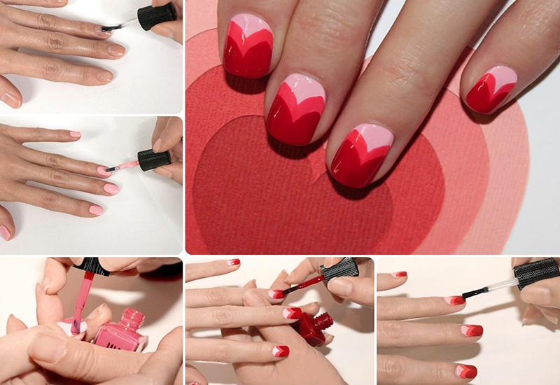 Легкие дизайны ногтей в домашних условиях