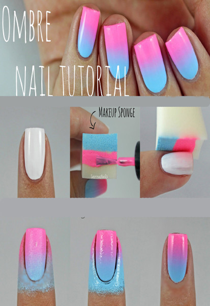 Ombre Nail Tutorial Final - bold - TOUCH UP
