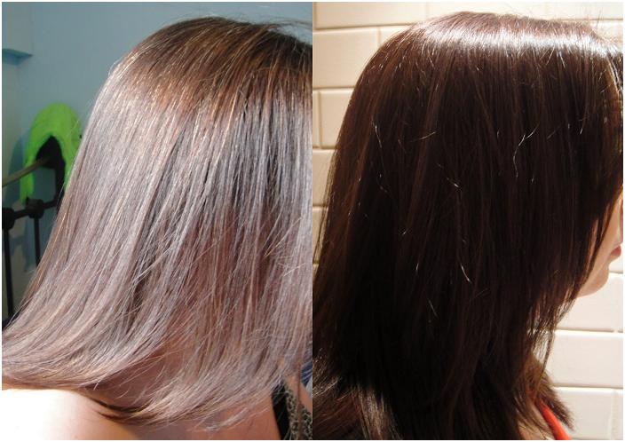 Как окрасить хной седые корни волос