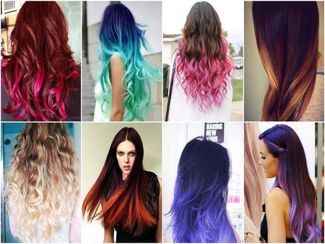Как покрасить волосы темные
