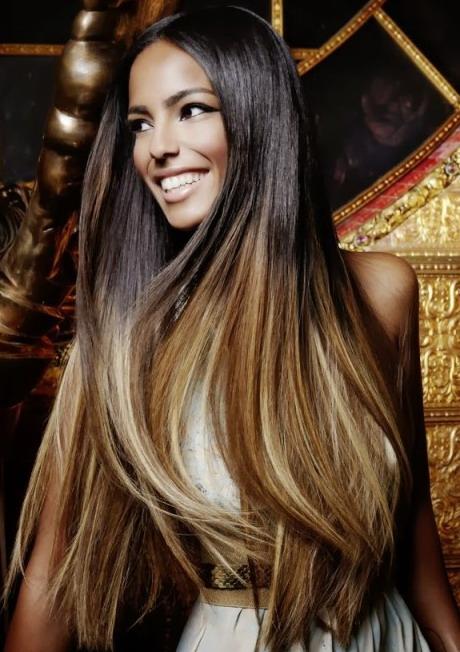 фото цвет волос брюнетки