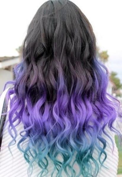 blue-hair-dip-dye-dip-dye-hair-hair-Favim.com-2756551