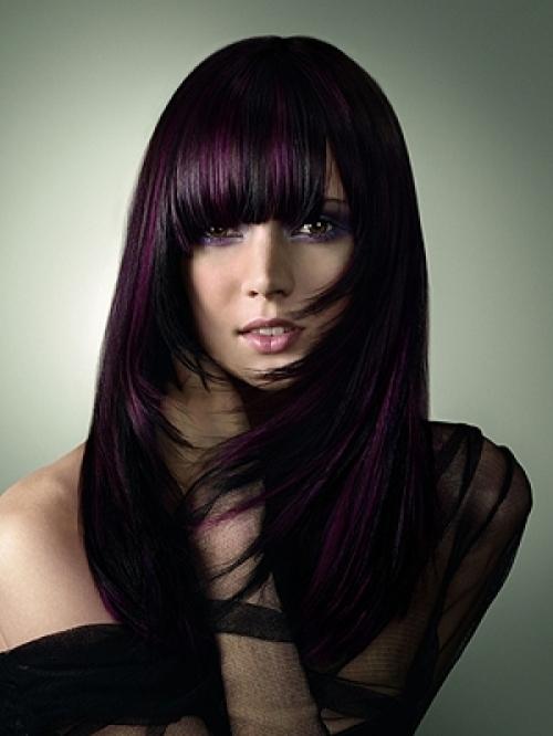 Брюнетке подобрать цвет волос