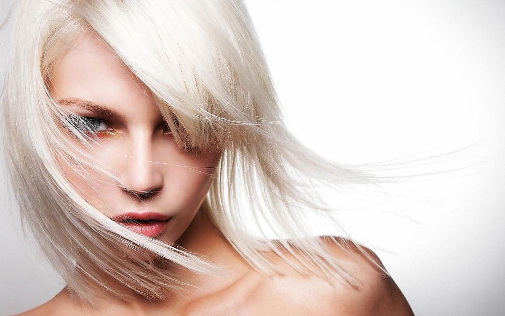 Как закрасить белый цвет волос
