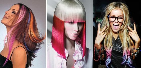 Чем можно красит пряди волос