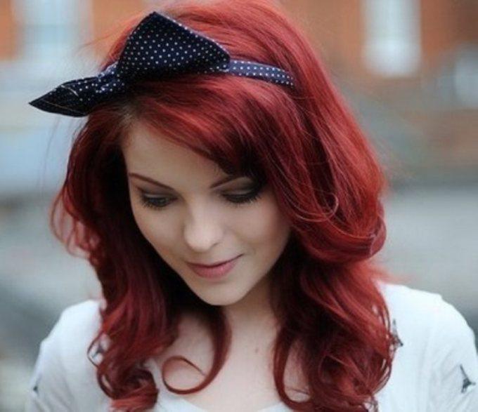 Почему женщины красят волосы в рыжий цвет