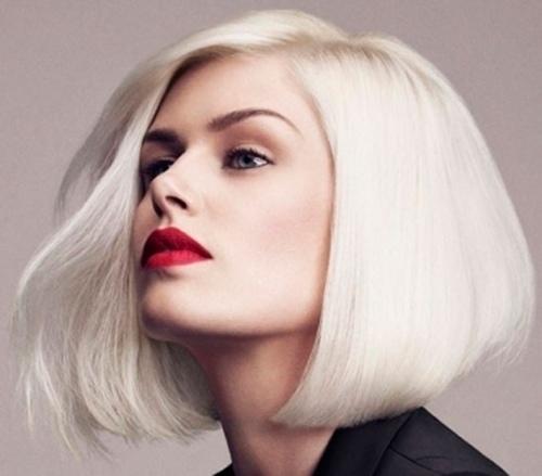 Как покрасить в темный обесцвеченные волосы