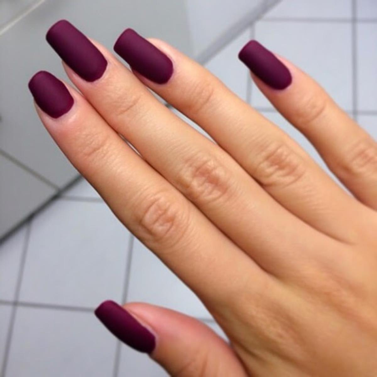 Наращивание ногтей матовые ногти фото