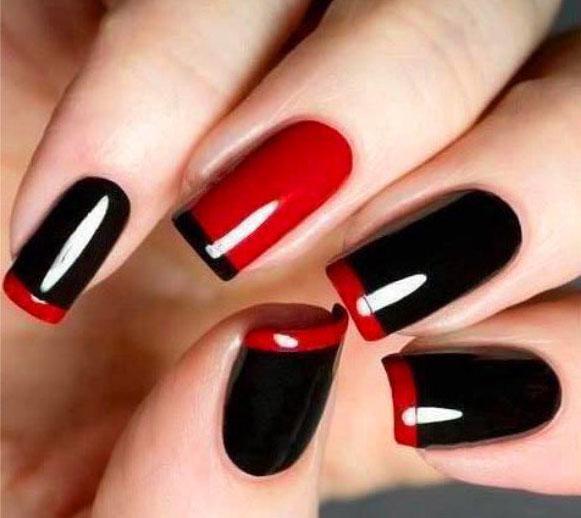черно красны