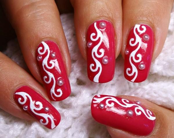 Рисунок узор на ногтях