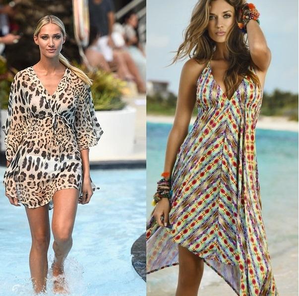 Платья пляжные и сарафаны фото