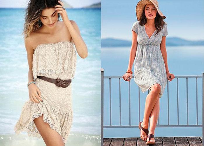 Пляжное платье из кружева своими руками