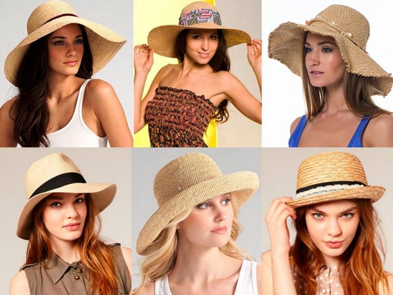 Пляжный головной убор для женщин