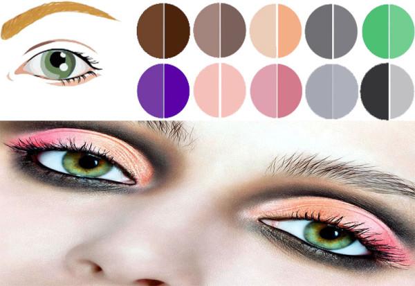 Как подобрать макияж к глазам