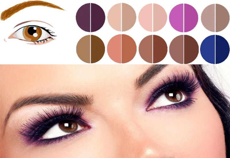 Какой цвет теней выбрать в макияже