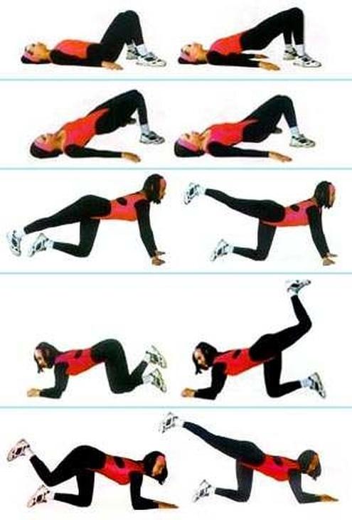 Как сделать попу красивой упражнения фото 841