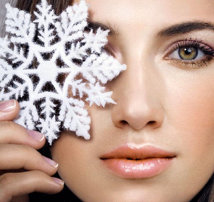 Картинки по запросу уход за кожей зимой