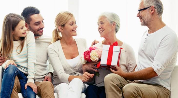 Заказать подарок для родителей