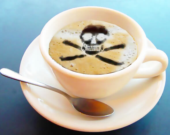 Вредные свойства кофе