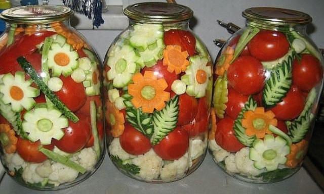вкусные рецепты салатов на закрутку