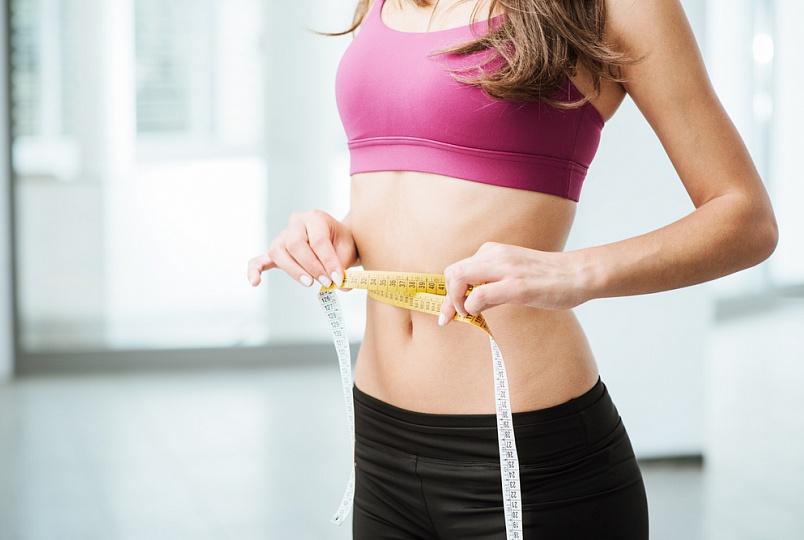 похудеть жир на животе