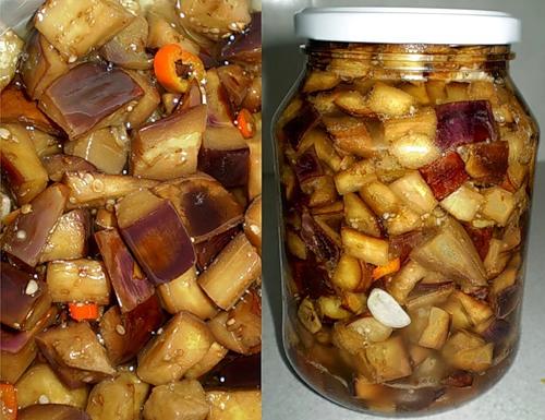 Грибочки из баклажанов рецепты с фото